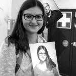 Porträtfotografie mit Fotopapier-Umkehrentwicklung _Foto_Website