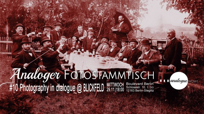 Analoger Fotostammtisch #10: Photography in Dialogue at BLICKFELD