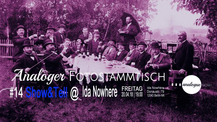 Analoger Fotostammtisch #14: Show & Tell