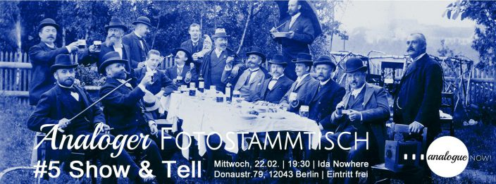 Analoger Fotostammtisch #5 – Show&Tell mit Open Call