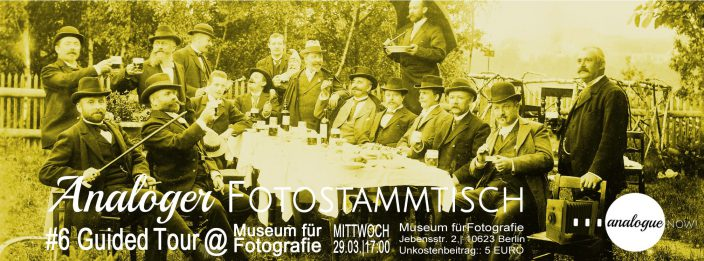 Analoger Fotostammtisch #6 – Guided Tour @ Museum für Fotografie
